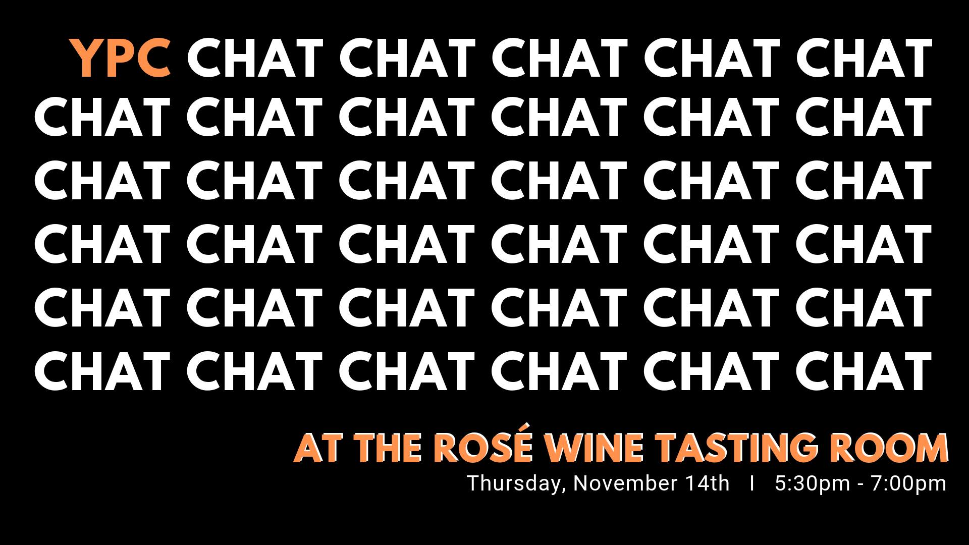 YPC Chat Rose Wine Tasting Room